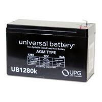 NEW UPG 12V 8AH SLA Battery Replacement for Sheng Yang SY1270