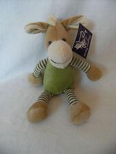 Playtime Plush Ponies Boy Soft Cuddly Toy Pony Green Velvet 8 With