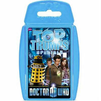 DOCTOR WHO - PACK NUMBER 5 MATT SMITH - TOP TRUMPS SPECIALS NEW AND SEALED
