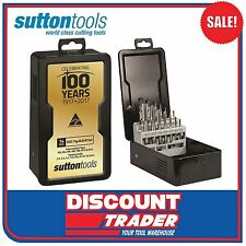Sutton Tools 14 Piece HSS Tap & Drill 100 Year Anniversary Set - T385S100