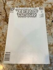1994 DC Comics  #0  ZERO HOUR  The end of today. Newstand edition.
