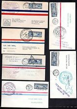 US 1926-1928 COLLECTION OF TEN DIFFERENT FIRST FLIGHT COVERS FRESNO,CA,MINNEAPOL