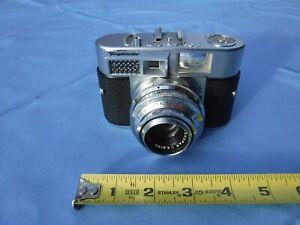 Voigtlander Vitomatic II 35mm Camera, 50mm Skopar 1:2.8 lens, with original case