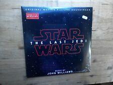 Star Wars The Last Jedi Film Soundtrack NEW SEALED 2x Vinyl Record John Williams