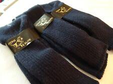 Lyons Elite Men's Acrylic Dress Sock Size 10-13  3 Pair -Navy