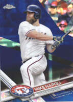 MIKE NAPOLI 2017 TOPPS CHROME SAPPHIRE EDITION #681 ONLY 250 MADE