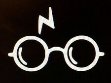 Harry Potter Glasses with Scar vinyl decal