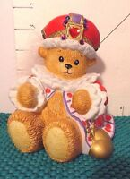 """Bear, """"Chapeau Noelle-Queen Of Hearts"""", By Lucy Rigg, 1995, Collectible"""