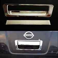 Nissan navara D40 2005-10 chrome trim hayon arrière porte poignée insert cover