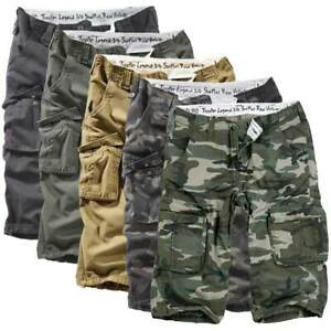 Surplus Raw Vintage Trooper Legend 3/4 Cargo Shorts Combat Army Military Style