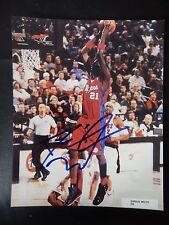 "Darius Miles Autographed 8"" X 10"" Photograph"