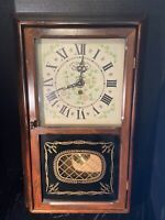 The New England Clock Co. 8 Day Spring Wound Pendulum No. 202P