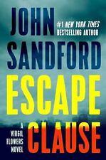 Escape Clause (A Virgil Flowers Novel) by Sandford, John     NEW