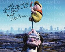 Disney Pixar Up signed Ed Asner 8X10 photo picture poster autograph RP