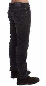 COSTUME NATIONAL C'N'c Gray Corduroy Regular Fit Pants Jeans W34/ IT48