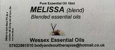 Melissa  essential oil 10ml bottle