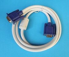 Premium VGA to VGA M/M Cable PC Computer Laptop to Projector LCD Monitor TV