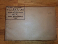 Yearbook of the Department of Agriculture 1910 United States original packaging