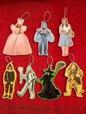 Wizard of Oz Handmade Wooden Ornaments Set Of 7