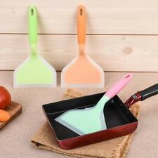 Shovel Spatula Silicone Cooking Wide Turner Nonstick for Cake Steak Pizza ON3