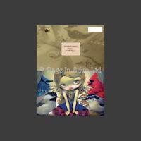*BACKYARD BIRDS* Fairy Fantasy Art Greeting Card By Jasmine Becket-Griffith