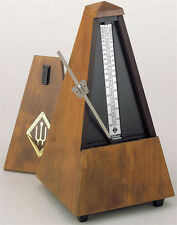 Wittner Bell Wood Key Wound Metronome Walnut 813m - New - Free Extended Warranty