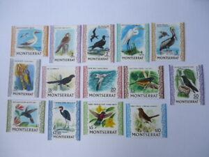 Monserrat QEII 1970 SG242-254c 1c-$5 MM (light) Birds