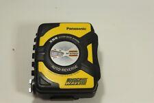Panasonic Shockwave RQ-SW5V Portable Personal AM/FM Radio Cassette Player yellow