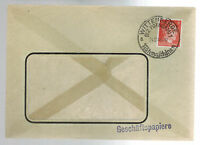 1941 Wittenberge Germany Cover Window envelope
