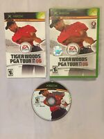Xbox Live Golf Game EA Sports Tiger Woods PGA Tour 06 Rated E