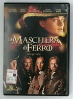 DVD La Maschera di Ferro Leonardo Di Caprio Film Cinema Video Movie