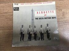 EP The Delta Rythm Boys Alouette Ça c'est l'amour Histoire d'un amour EXC