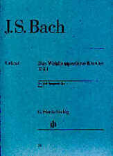 BACH WELL TEMPERED CLAVIER Pt1 with fingering