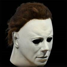 Deluxe Michael Myers Maske Halloween II Latex Voller Kopf Erwachsenengröße Kostü