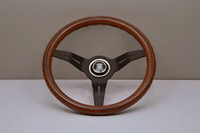 NARDI Deep Corn 330MM Wood Black Spoke Steering Wheel - 5069.33.2000 IN STOCK