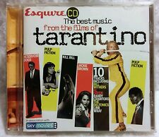 RARE - THE BEST MUSIC FROM THE FILMS OF TARANTINO CD SOUNDTRACKS ESQUIRE 2004