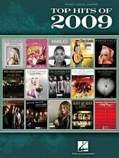 Top Hits Of 2009 by Hal Leonard Corp. Staff (2009, Paperback) Piano Vocal Guitar
