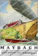 August Brandes Zeppelin LZ 127 Maybach Auto Luftfahrt Motorenbau Bodensee 1930!!
