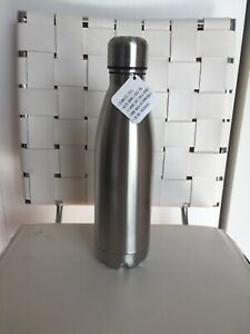 New Hobby Lobby Metal Silver Bottles Stainless Steel Water Bottle Metal 16oz