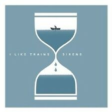 I LIKE TRAINS - SIRENS  VINYL EP ALTERNATIVE ROCK NEUWARE