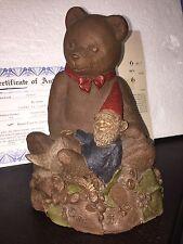 """Tom Clark Gnome """"Ben"""" #1069 1984 Teddy Bear Collectible Coa $59.50 Story Card"""