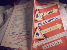 Ancien Manuel du Code de la Route 1951 Collection Baudry de Saunier