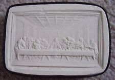 Collectables Chalk ware Last Supper plaque-picture,miniature,dated 1816,signed