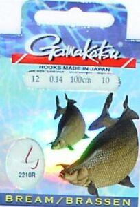 Gamakatsu Forellen Haken 2210R 120cm Gr.10