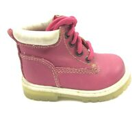 KIDCONNECTION Toddler Rose Pink Ankle Boots Shoes Baby Girl Size 3