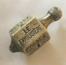 🎲 Vintage Le Familistère Brass spinner / gamblinggame / toupie de bistrot