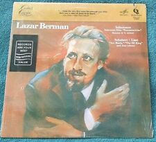 Lazar Berman - Schumann/Schubert/Liszt LP Quintessence PMC-7155 Still Sealed