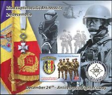 Rumania 2012 Soldados Ejército Militar///Armas/Rifles/Helicóptero 1 V M/S (n46008)