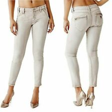 💕 GUESS ROCKET MID-RISE COATED SKINNY JEANS IN SKELETON KEY WASH 💕