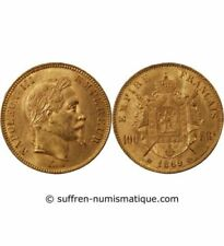 Pièces de monnaie françaises de 100 francs or 100 Francs